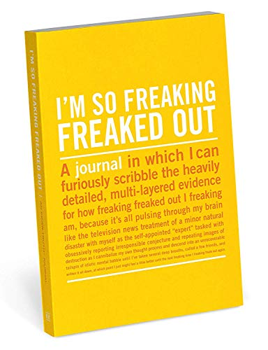 Knock Knock I`m So Freaking Freaked Out Mini Truth Journal