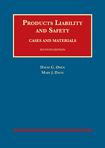 Products Liability and Safety