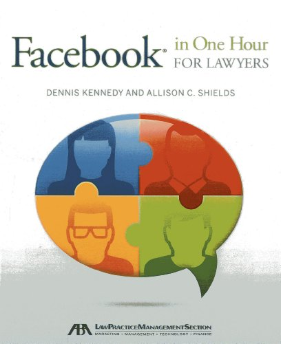 Facebook(r) in One Hour for Lawyers