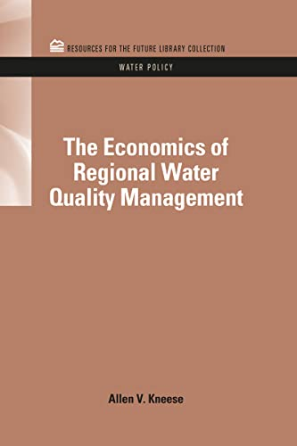 The Economics of Regional Water Quality Management
