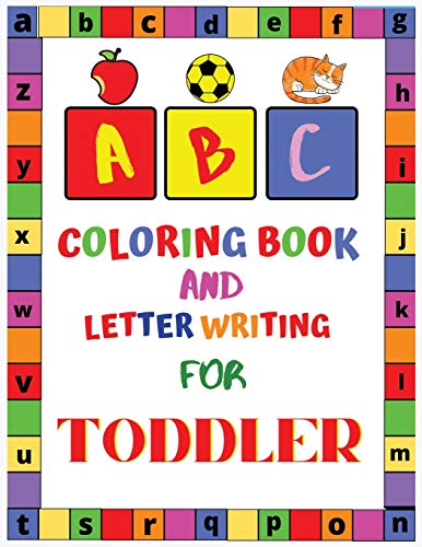 ABC Coloring Book and Letter Writing for Toddler