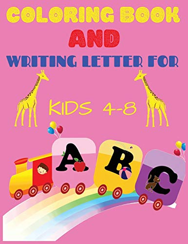 ABC Coloring Book and Letter Writing for kids ages 4-8