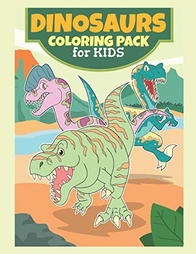 Dinosaurs Coloring Pack For Kids