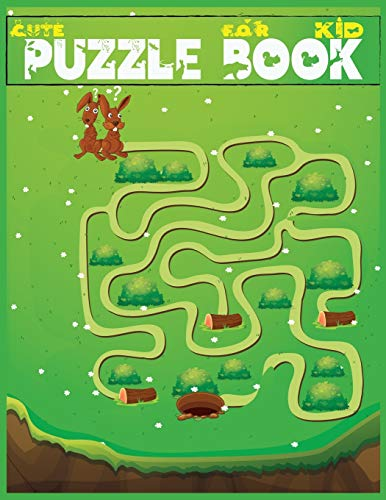 Cute Puzzle Book for Kid