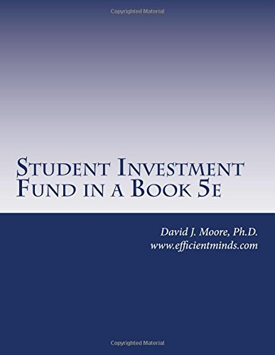 Student Investment Fund in a Book 5e
