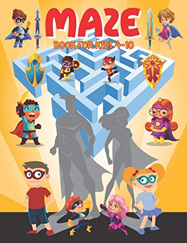 Maze Books for Kids 4-10