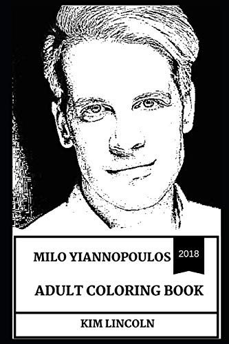 Milo Yiannopoulos Adult Coloring Book