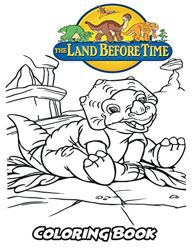 Land Before Time Coloring Book