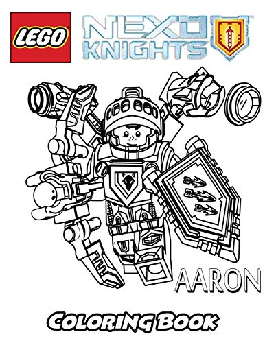 Lego Nexo Knights Coloring Book