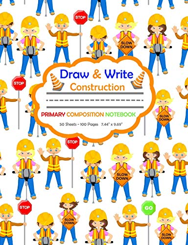 Draw and Write Primary Composition Notebook