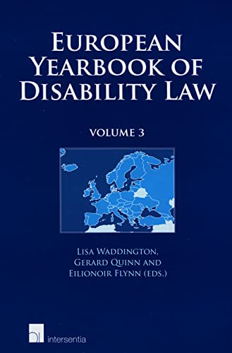 European Yearbook of Disability Law: 3