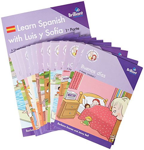 Learn Spanish with Luis y Sofia, Part 1 Starter Pack, Years 3-4