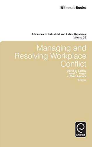Managing and Resolving Workplace Conflict
