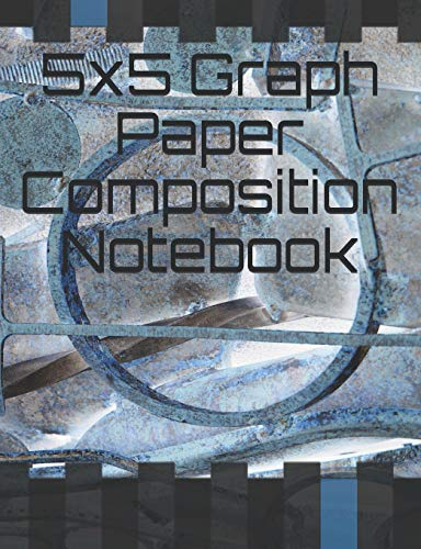 5x5 Graph Paper Composition Notebook