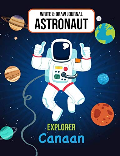 Write & Draw Journal Astronaut Explorer Canaan