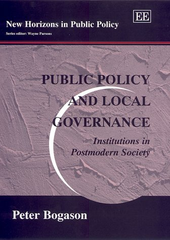 Public Policy and Local Governance