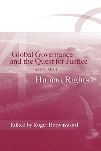 Global Governance and the Quest for Justice: v. 4