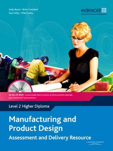 Manufacturing and Product Design Level 2 Higher Diploma Assessment and Delivery Resource