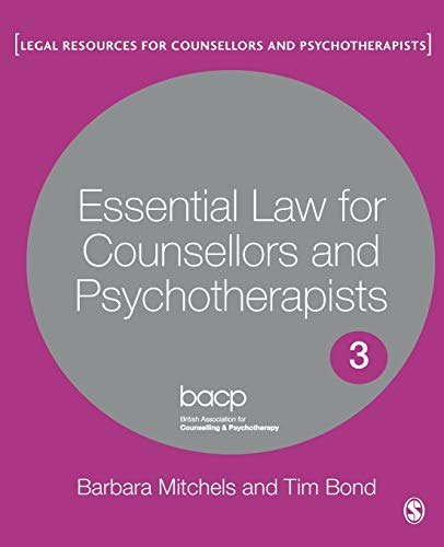 Essential Law for Counsellors and Psychotherapists