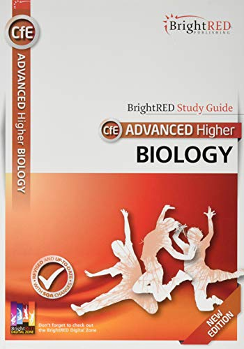 BrightRED Study Guide CfE Advanced Higher Biology - New Edition