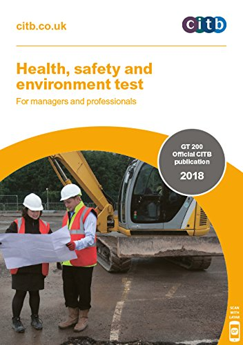 Health, safety and environment test for managers and professionals 2018