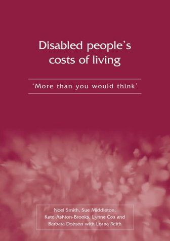 Disabled People's Costs of Living