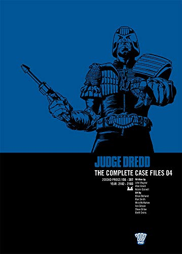 JUDGE DREDD COMP CASE FILE 4