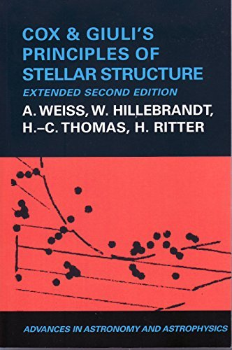 Cox and Giuli's Principles of Stellar Structure