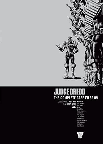 JUDGE DREDD COMP CASE FILE 9