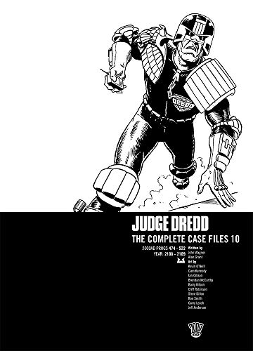 JUDGE DREDD COMP CASE FILE 10