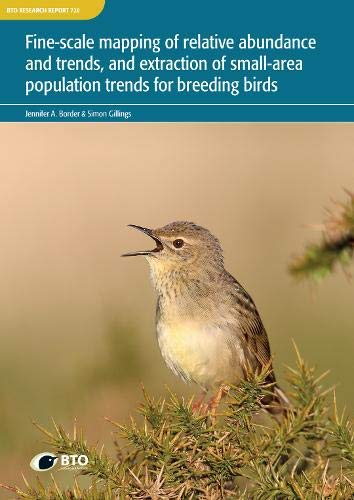 Fine-scale mapping of relative abundance and trends, and extraction of small-area population trends for breeding birds