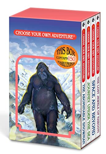 Choose Your Own Adventure 4-Book Set, Volume 1
