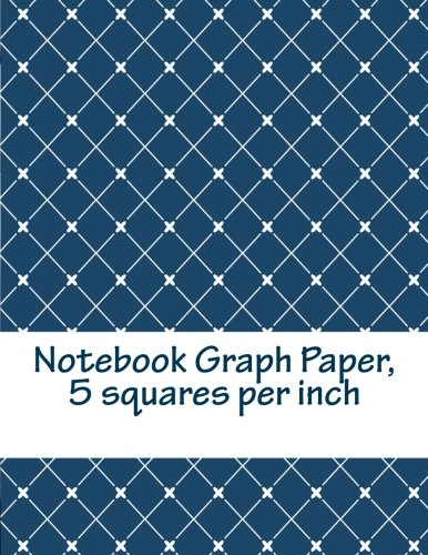 Notebook Graph Paper, 5 Squares Per Inch