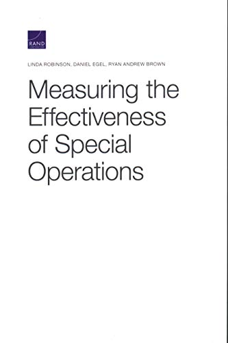 Measuring the Effectiveness of Special Operations