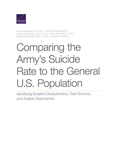 Comparing the Army's Suicide Rate to the General U.S. Population