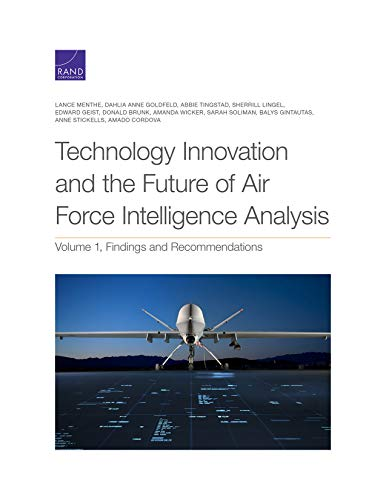 Technology Innovation and the Future of Air Force Intelligence Analysis