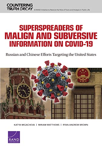 Superspreaders of Malign and Subversive Information on Covid-19