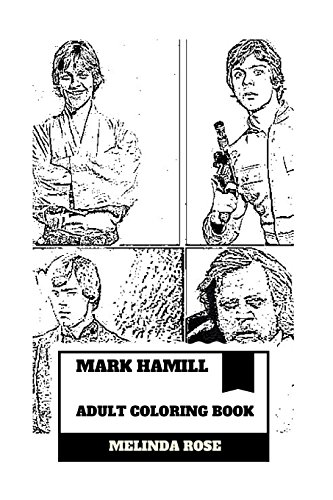 Mark Hamill Adult Coloring Book
