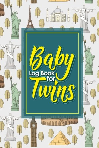 Baby Log Book for Twins