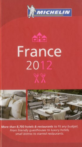 France 2012 Michelin Guide