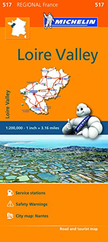Pays de la Loire - Michelin Regional Map 517