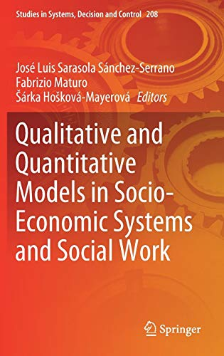 Qualitative and Quantitative Models in Socio-Economic Systems and Social Work