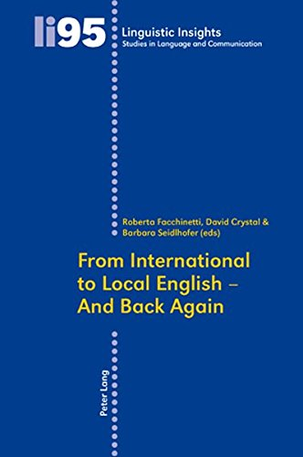 From International to Local English - And Back Again