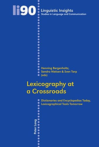 Lexicography at a Crossroads
