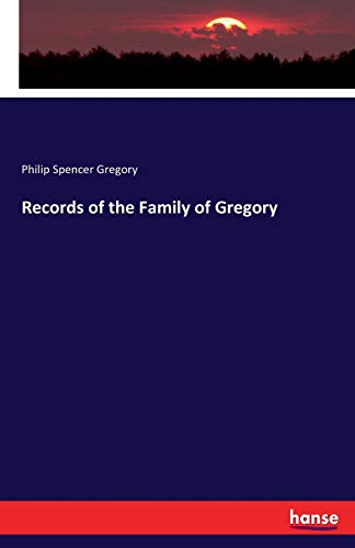 Records of the Family of Gregory