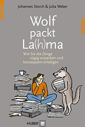 Wolf packt La(h)ma