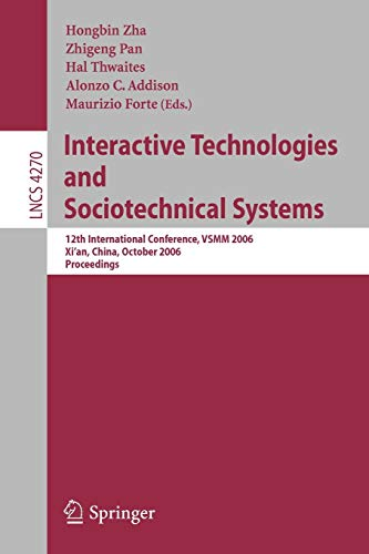 Interactive Technologies and Sociotechnical Systems