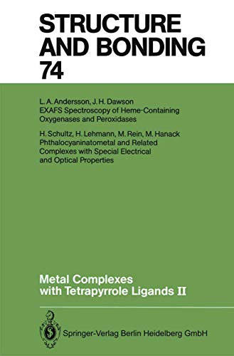 Metal Complexes with Tetrapyrrole Ligands II