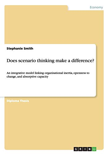 Does scenario thinking make a difference?