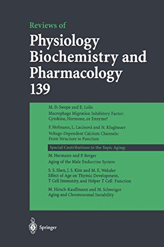 Reviews of Physiology, Biochemistry and Pharmacology 139